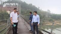 Cầu treo đò Rô (Tân Kỳ) được đầu tư sửa chữa gần 1,5 tỷ đồng