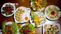 Nhà hàng chay Dưỡng sinh Thiên Phúc - nét chấm phá ẩm thực chay xứ Nghệ