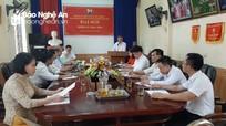 Chi bộ Trung tâm Nước sinh hoạt và Vệ sinh môi trường nông thôn đại hội nhiệm kỳ 2020 - 2022