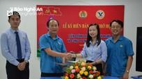 Liên đoàn Lao động tỉnh ký biên bản ghi nhớ hợp tác chương trình phúc lợi cho đoàn viên