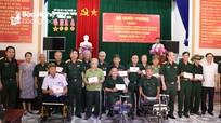 Bộ Quốc phòng trao tặng trang thiết bị y tế cho các đơn vị nuôi dưỡng thương binh