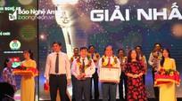 Bệnh viện ĐK TP Vinh: Đạt giải Nhất công trình sáng tạo khoa học và công nghệ tỉnh Nghệ An năm 2020