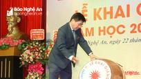 Gần 1.100 sinh viên Trường Cao đẳng Kỹ thuật Công nghiệp Việt Nam - Hàn Quốc bước vào năm học mới