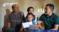 Nhóm Niềm tin tặng quà hộ nghèo bị tai nạn rủi ro, chưa có nhà ở