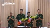 BĐBP tỉnh: Bàn giao chức trách Phó Chỉ huy trưởng phụ trách kỹ thuật