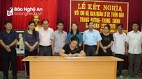 Huyện Con Cuông: 8 phòng, ban nhận giúp đỡ 2 thôn bản