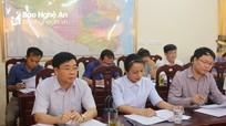 Phó Bí thư Tỉnh ủy Nguyễn Văn Thông dự sơ kết giữa nhiệm kỳ tại huyện Đô Lương