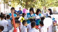 Đoàn sinh viên Đại học Yongsang tổng kết hoạt động tình nguyện tại Nghi Lộc