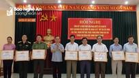 Trưởng Ban Nội chính Tỉnh ủy dự hội nghị xây dựng khu vực phòng thủ