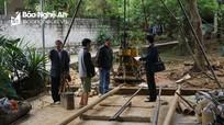 Yêu cầu lập dự án, thay thế nguồn nước thô đầu vào của Trạm cấp nước Quỳ Hợp
