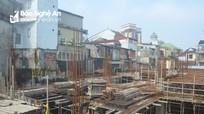Xử phạt Tập đoàn Hoành Sơn do gây sụt lún, nứt nhà dân ở TP Vinh