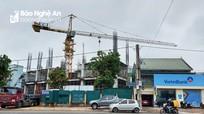 Công ty CP Tập đoàn Hoành Sơn không xuất trình được giấy phép hoạt động cần trục tháp