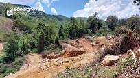Yêu cầu kiểm tra, xác minh vụ khai thác trái phép quặng đá thạch anh ở Nghệ An