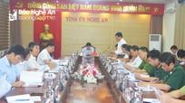 Đảm bảo an ninh trật tự tuyệt đối trong dịp Đại hội Đảng bộ tỉnh Nghệ An lần thứ XIX