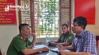 Sở TT&TT đề nghị Công an tỉnh vào cuộc vụ 'Dấu hiệu giả danh nhà báo sách nhiễu ở Quỳ Châu'
