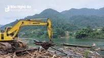 Thủy điện lớn nhất Nghệ An sẽ dọn sạch rác trên sông Nậm Nơn trước Tết Dương lịch 2021