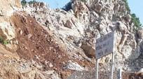 Kiến nghị UBND tỉnh đình chỉ khai thác 1,09 ha mỏ đá của Công ty TNHH Tùng Cường
