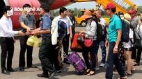 Lần đầu tiên mở đường bay Vinh - Cần Thơ