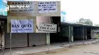 Nhiều tiểu thương ở TP Vinh rao bán, chuyển nhượng ki-ốt