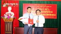 Bổ nhiệm Phó trưởng Ban quản lý Khu kinh tế Đông Nam Nghệ An