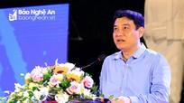 Đồng chí Nguyễn Đắc Vinh: 'Là thanh niên, cần đề cao sức sáng tạo'