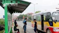 Hành trình các tuyến xe buýt ở Nghệ An