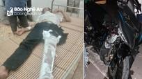 Hai xe máy đối đầu khiến 5 người nhập viện