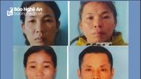 4 người ở Con Cuông (Nghệ An) bị bắt vì chặt phá keo do mâu thuẫn cá nhân