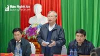 Thường trực Ban Bí thư Trần Quốc Vượng nói về công tác nhân sự đại hội Đảng các cấp