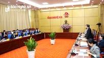 Bộ trưởng Bộ NN&PTNT Nguyễn Xuân Cường làm việc tại Nghệ An