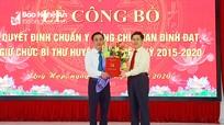 Công bố Quyết định chuẩn y Bí thư Huyện ủy Quỳ Hợp