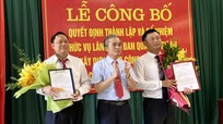 Nghệ An: Công bố thành lập và bổ nhiệm lãnh đạo Ban quản lý dự án mới