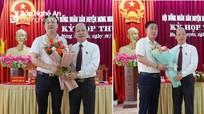 Bầu bổ sung Chủ tịch, Phó Chủ tịch UBND huyện Hưng Nguyên