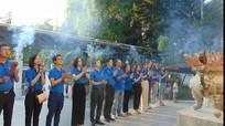 Tuổi trẻ Tỉnh ủy Nghệ An tri ân các anh hùng liệt sỹ