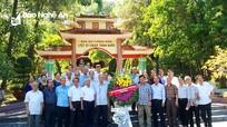 Cựu cán bộ Tuyên giáo Nghệ - Tĩnh tham quan mô hình kinh tế - xã hội ở Hà Tĩnh