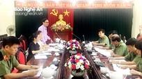 Ban Tuyên giáo Tỉnh ủy khảo sát việc thực hiện Chỉ thị 05 tại Đảng bộ Công an tỉnh