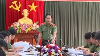 Công an Nghệ An thông qua phương án đảm bảo an ninh trật tự Đại hội Đảng bộ tỉnh