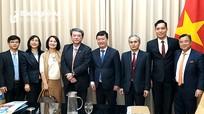 Chủ tịch UBND tỉnh Nghệ An làm việc với các đối tác Nhật Bản nhân chuyến thăm chính thức của Thủ tướng Nhật đến Việt Nam
