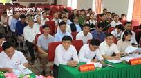 Đại biểu HĐND tỉnh tiếp xúc cử tri tại huyện Đô Lương