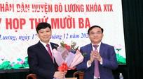 Đô Lương có tân Phó Chủ tịch UBND huyện