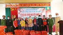 Công ty CP Xi măng Sông Lam: Hơn 3 tỷ đồng hỗ trợ người nghèo ở Nghệ An đón Tết