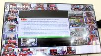 Hình ảnh các điểm cầu trực tuyến học tập Nghị quyết Đại hội XIII của Đảng tại Nghệ An
