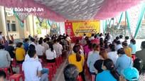 Ứng cử viên đại biểu HĐND tỉnh và HĐND huyện Kỳ Sơn tiếp xúc cử tri