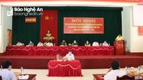 Ứng cử viên Đại biểu Quốc hội và HĐND tỉnh tiếp xúc cử tri tại Quế Phong