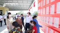 Chủ nhiệm Ủy ban Kiểm tra Tỉnh ủy kiểm tra bầu cử tại huyện Yên Thành