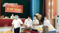 Bầu các chức danh HĐND, UBND huyện Tân Kỳ nhiệm kỳ 2021-2026