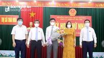 Bầu các chức danh lãnh đạo HĐND, UBND thị xã Thái Hòa, nhiệm kỳ 2021-2026