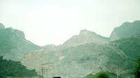 Công ty CP Xi măng Sông Lam đề xuất phối hợp làm rõ việc một số nhà dân ở gần mỏ đá bị nứt