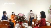 Đoàn ĐBQH tỉnh làm việc với Đài PT-TH Nghệ An về công tác tuyên truyền kỳ họp thứ 2