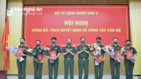 Nghệ An có tân Chỉ huy trưởng Bộ Chỉ huy Quân sự tỉnh